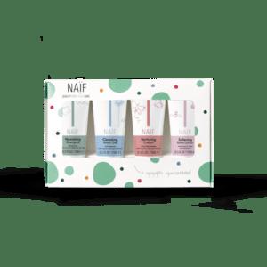 Naif mini geschenkset in verpakking
