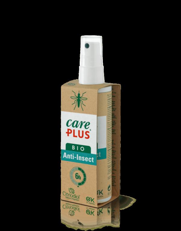 Flesje in kartonnen verpakking, care plus anti-insect spray